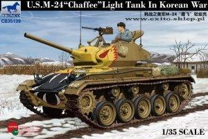 Bronco CB35139 U.S. M-24 Chaffee Light Tank in Korean War (1:35)
