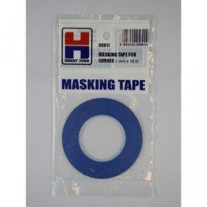 Hobby 2000 80011 Masking Tape For Curves 1mm x 18m