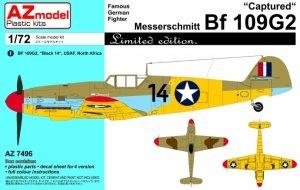AZmodel AZ7496 Messerschmitt Bf 109Ga-2 Captured 1/72