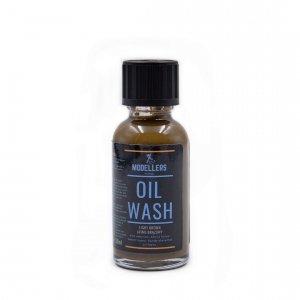 Modellers World MWW005 Oil Wash: Jasno brązowy (Light brown) 30ml