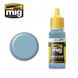 AMMO of Mig Jimenez 271 Air Superiority Blue FS35450 17ml