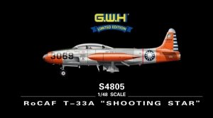 Great Wall Hobby S4805 RoCAF T-33A Shooting Star (1:48)