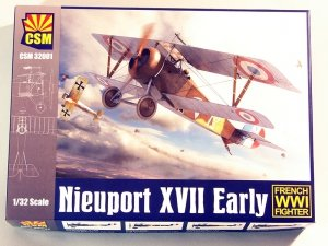 Cooper State Models 32-001 Nieuport XVII Early 1/32
