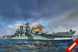 Trumpeter 06738 USS Large cruiser Alaska 1/700