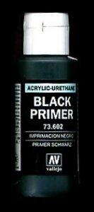 Vallejo 73602 Surface Primer Black 60ml
