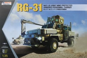 Kinetic K61015 RG-31 Mk.5 US Army Mine Protected Armored Personel Carrier 1:35