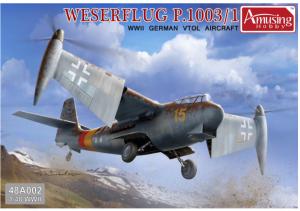 Amusing Hobby 48A002 Weserflug P.1003/1 WWII German VTOL aircraft 1/48