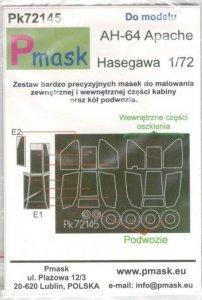P-Mask PK72145 AH-64A Apache ( Hasegawa) 1/72