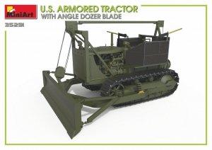 Miniart 35291 U.S. ARMORED TRACTOR WITH ANGLE DOZER BLADE 1/35