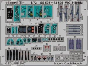 Eduard 73595 MiG-31B/ BM TRUMPETER 1/72