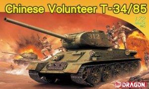 Dragon 7668 Chinese Volunteer T-34/85 1/72