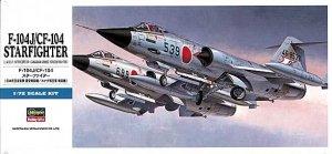 Hasegawa D16 F-104J/CF-104 1/72