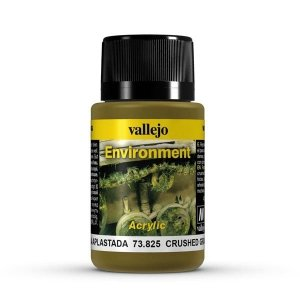 Vallejo 73825 Environment - Crushed Grass 40 ml- Streaking Grime 40 ml