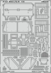 Eduard 36431 M4A3 (76) W 1/35 MENG