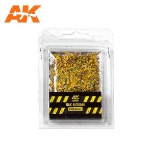 AK Interactive AK 8162 OAK AUTUMN LEAVES 75MM / 90MM  1/32 1/35