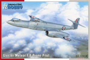 Special Hobby 72424 Gloster Meteor F.8 Prone Pilot 1/72