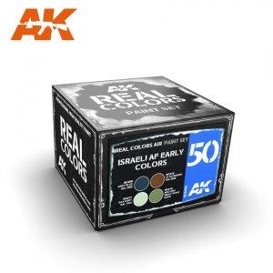 AK Interactive RCS050 ISRAELI AF EARLY COLORS 4x10ml