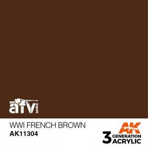 AK-Interactive AK 11304 WWI French Brown 17ml