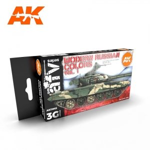 AK Interactive AK 11662 MODERN RUSSIAN COLORS VOL 1 6x17 ml