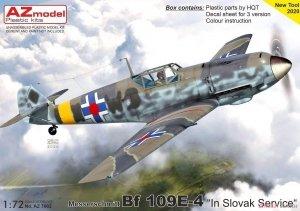 AZ Model AZ7662 Messerschmitt Bf.109E-4 Slovak Air Force 1/72