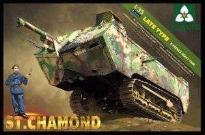 Takom 2012 Franch heavy tank St.Chamond Late type (1:35)