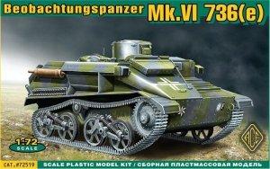 ACE 72519 BeoPanzerkampwagen Mk.VI(e) (1:72)
