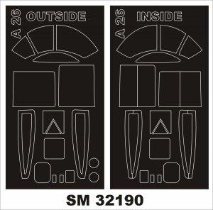 Montex SM32190 Douglas A-26B Invader 1/32