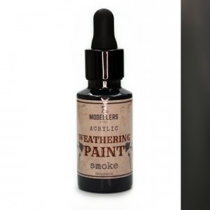 Modellers World MWE016 Weathering paint : Smoke 30 ml