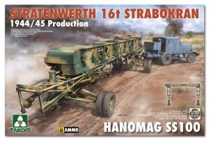 Takom 2124 Stratenwerth 16T Strabokran 1944/45 Production Hanomag SS100 1/35