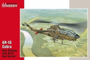 Special Hobby 72076 AH-1G Cobra Over Vietnam with M-35 Gun Syste 1/72