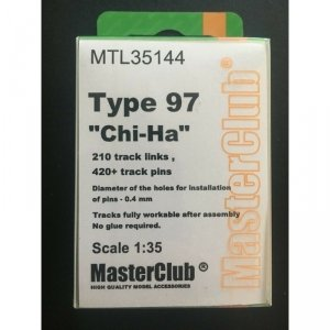 MasterClub MTL-35144 Tracks for Type 97 Chi-Ha 1/35