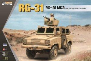 Kinetic K61012 RG-31 Mk3 The United States Army 1/35