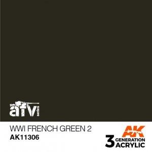 AK-Interactive AK 11306 WWI French Green 2 17ml