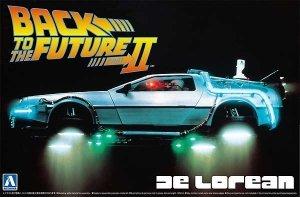 Aoshima 05917 Back to the Future II DeLorean 1/24