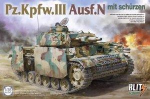 Takom 8005 Pz.Kpfw.III Ausf.N mit schürzen 1/35