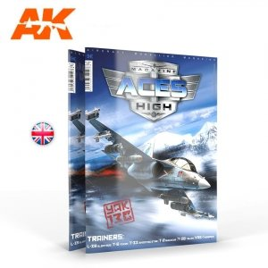 AK-Interactive 2937 ACES HIGH 18: TRAINERS (English)