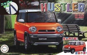 Fujimi 066103 Suzuki Hustler (Passion Orange) (w/Side Cutter) 1/24
