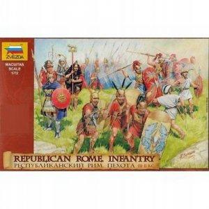 Zvezda 8034 Republican Rome Infantry III – II B.C.  1/72