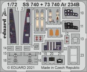 Eduard SS740 Ar 234B HOBBY 2000 / DRAGON 1/72