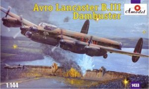 A-Model 01433 Avro Lancaster B.III Dambuster 1:144