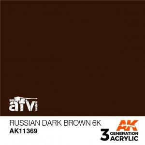 AK-Interactive AK 11369 Russian Dark Brown 6K 17ml