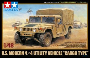 Tamiya 32563 US Modern 4x4 Utility Vehicle Cargo Type (1:48)