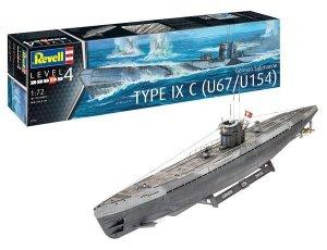 Revell 05166 Submarine Type IXC Early Turret 1/72