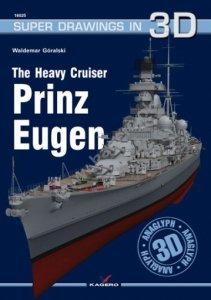 Kagero 16025 The Heavy Cruiser Prinz Eugen EN