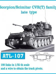 Friulmodel 1:35 ATL-107 Scorpion/Scimitar CVR (T) family late type