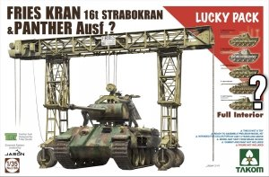 Takom 2108 FRIES KRAN 16t Strabokran, 1943/44 Production combined with Panther (with full interior) 1/35