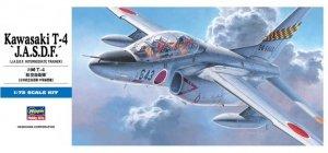 Hasegawa D12 Kawasaki T-4 'J.A.S.D.F' 1/72