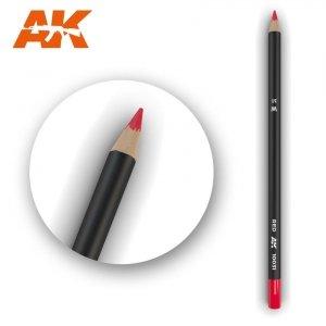 AK Interactive AK 10031 Watercolor Pencil RED