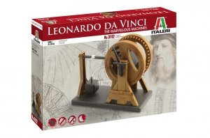 Italeri 3112 Leonardo Da Vinci Leverage Crane