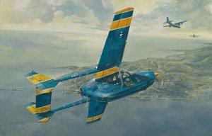Roden 632 Cessna O-2A Skymaster 1/32